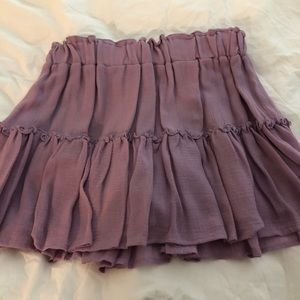 Eberjey purple skirt
